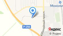 Новосибирская Академия Дизайна и Программирования на карте