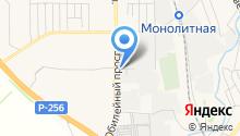 Межрайонный отдел технического надзора и регистрации автомототранспортных средств ГИБДД №4 на карте