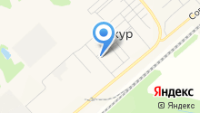 Продуктовый магазин на ул. 1-й квартал на карте