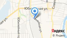 Искитим-Бердск-уголь на карте