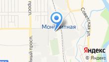 Авторазбор на Монолитной на карте