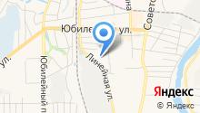 Отдел Военного комиссариата Новосибирской области по г. Искитим на карте