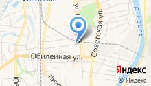 Искитимская центральная городская больница на карте
