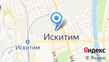 Управление Пенсионного фонда РФ в г. Искитиме и Искитимском районе на карте