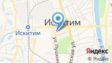 Участковый пункт полиции №2, Отдел МВД России по г. Искитиму на карте