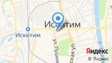 Управление экономического развития промышленности и торговли Администрации Искитимского района на карте