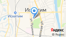 Администрация Искитимского района на карте