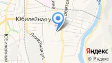 Автошкола, АНО на карте