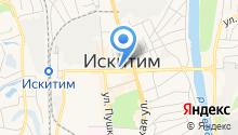 Следственное управление Следственного комитета РФ по Новосибирской области на карте