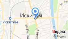 Отдел судебных приставов по Искитимскому району на карте