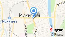 Эвакуатор Искитим - Эвакуация автомобилей в Искитимском районе на карте