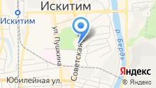 Искитимский районный суд на карте
