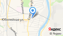 Активный поиск на карте