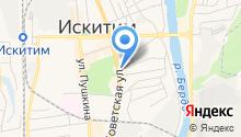 Ласточка на карте