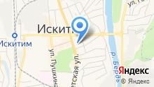 КФК на карте