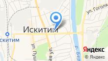 БТИ Новосибирской области на карте