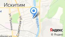 Вьюга на карте