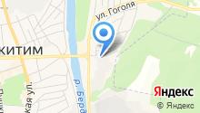 Управление ветеринарии Искитимского района Новосибирской области, ГБУ на карте