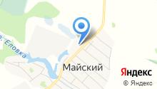 Майская средняя общеобразовательная школа на карте
