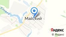 Администрация Майского сельсовета Черепановского района на карте