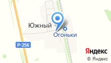 Южненская начальная общеобразовательная школа на карте