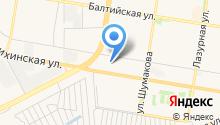 Ангар на карте