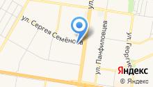 Форд Партнер на карте