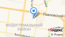 ISMA на карте