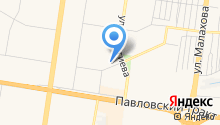 Сеть магазинов нижнего белья на карте