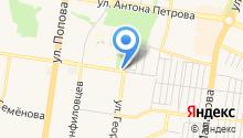 Сапарова А.А. на карте