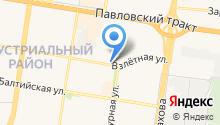 Главное Управление МЧС России по Алтайскому краю на карте
