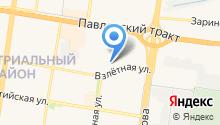 1 Мебельная фабрика на карте
