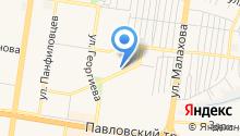 Штаб по делам ГО и ЧС Индустриального района на карте