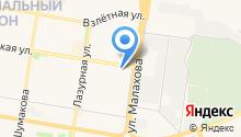 IS service на карте