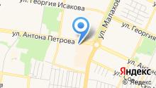 COM на карте