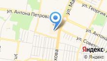 Oneaero.ru - чартерные авиабилеты на карте