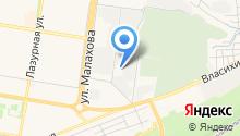 Пожарная часть №2 Индустриального района на карте