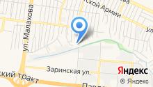 Автосервис на Бабуркина на карте