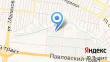 STO-carat на карте