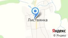 Листвянская средняя общеобразовательная школа на карте