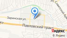 Магазин автозапчастей на Заринской на карте