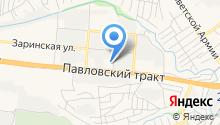 Автосервис На Павловском на карте