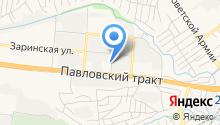 Магазин автозапчастей для Москвич, Renault на карте