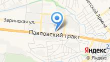 jCAR на карте
