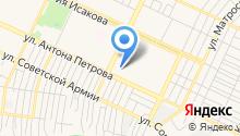 Аварийно-диспетчерская служба, Прогресс Плюс на карте