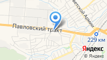 Автостандарт на карте