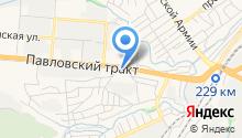 АВТОМАН на карте