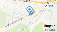 Барнаульский водоканал на карте