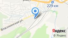 BeeByte на карте