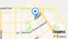 Пожарная часть №3 Октябрьского района на карте